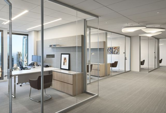 Casegood | Custom | Paul Hastings San Francisco - © Gensler / Ryan Gobuty