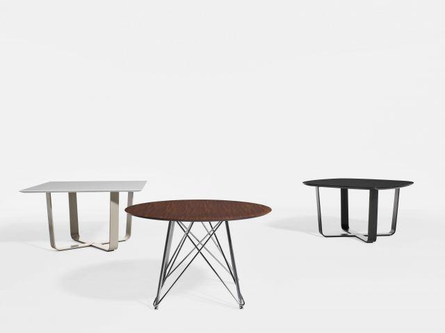 Baja | Meeting Table | Square | Round | Soft Square