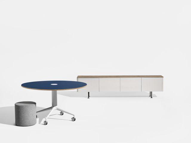 MYNE Column Base Table and MYNE Credenza
