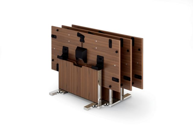 Approach | Reconfigurable Table | Veneer Top | Nesting Position