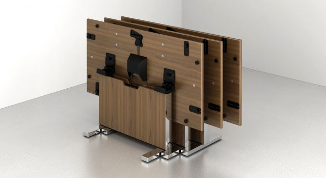 Approach | Reconfigurable Table | Custom Veneer | Nesting