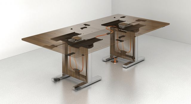 Approach | Reconfigurable Tables | Wire Management