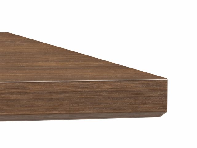 Approach | Reconfigurable Tables | Walnut M35 Marron Veneer | Edge Detail