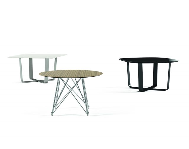 Baja | Meeting Table | Square, Round and Soft Square