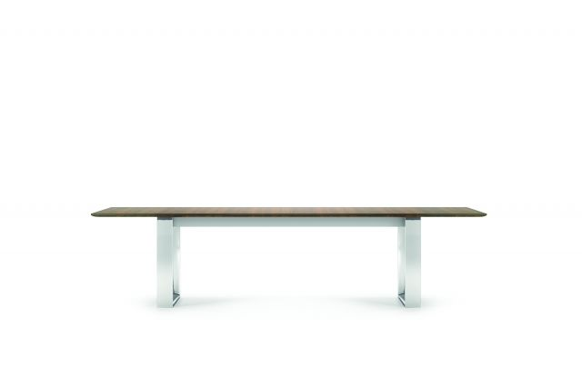 "Flow | Conference Table | 120"" Rectangle Shape Top 