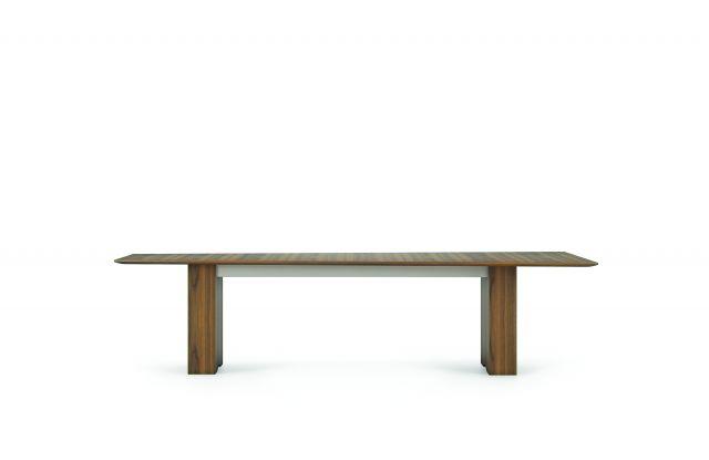 "Flow   Conference Table   120"" Sightline Shape Top   Rectangle Expandable Base"
