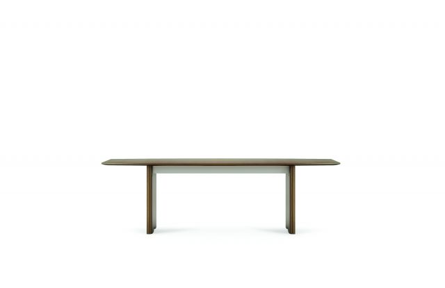 "Flow | Conference Table | 96"" Boat Shaped Top 