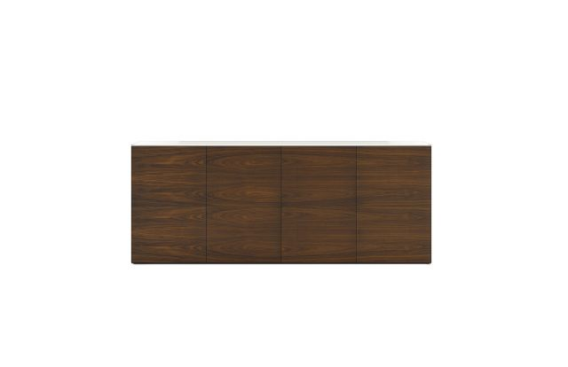 Flow | Credenza | Horizontal Veneer | Conference Height