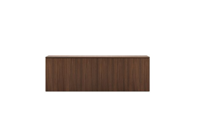 Flow | Credenza | M35 Marron Walnut Veneer | Buffet Height