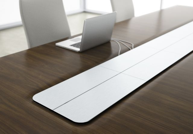 Flow XT | Conference Table | Power Matrix | Metal Doors