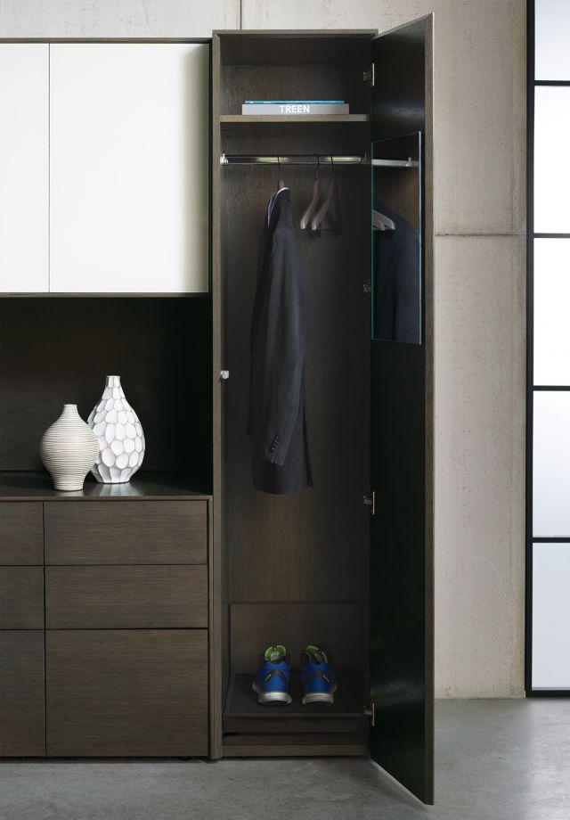 Merino | Casegood | G03 Carbon Rift Oak | Wardrobe