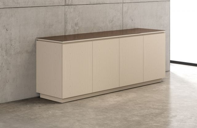 "Performance Credenza | Utility Credenza | Custom Veneer | 96"" Long 