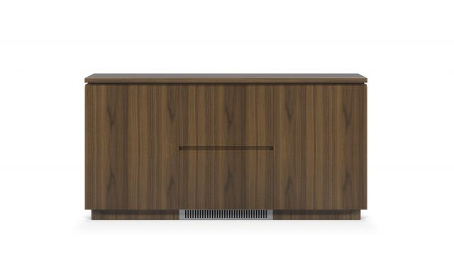 Performance Credenza | Food Service | M35 Marron Walnut Veneer