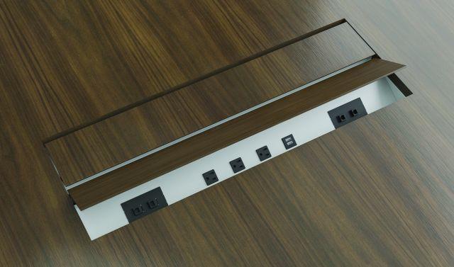 Power Matrix   M75 Thicket Paldao   Grain Matched Veneer Door   Extra Large Size
