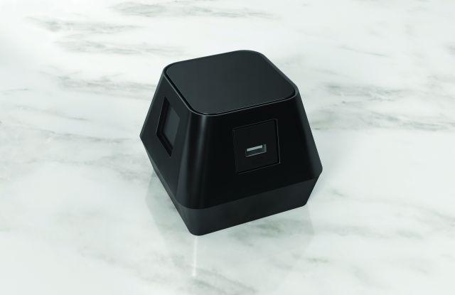 Charging Cube   Stone Background