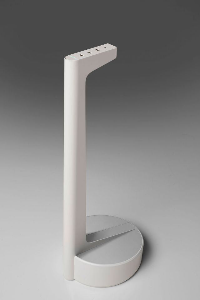 Charging Stand | Power | Battery Powered | White