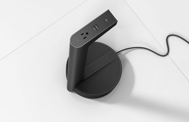 Charging Stand   Power   Corded   Black
