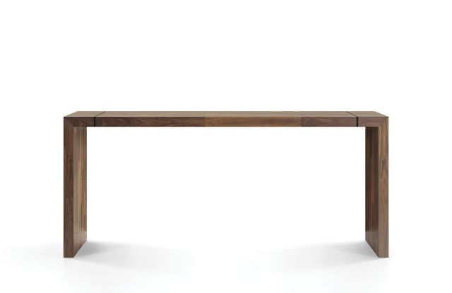 Tesano | Community Table | Planked Walnut Veneer | Standing Height | Whitesweep