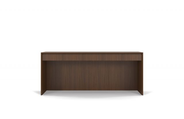 Two4Six | Console | G25 Natural Walnut Veneer | Open Console