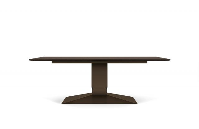 Two4Six | Meeting Table | Rectangle Veneer Top | Height Adjustable Base