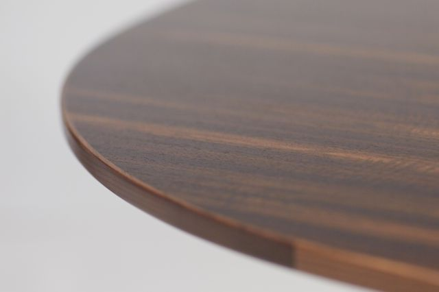 Two4Six | Meeting Table | Round Custom Fumed Etimoe Veneer