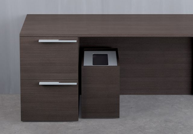 Recycle Center | Private Office | G30 Zinc Walnut Veneer | Single
