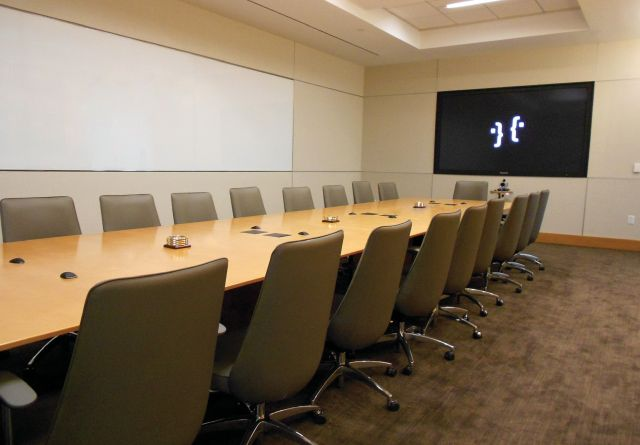 Saber | Conference Table | Rectangle Shape Top | Calpine Install