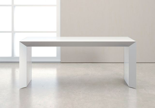 Tavola | Console | White Glass Top