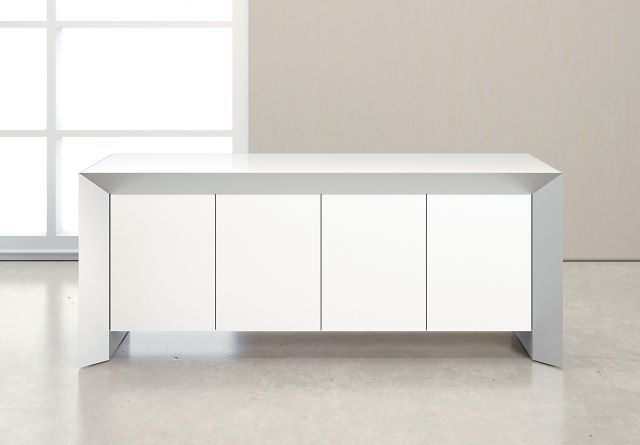 Tavola | Credenza | White Glass Door