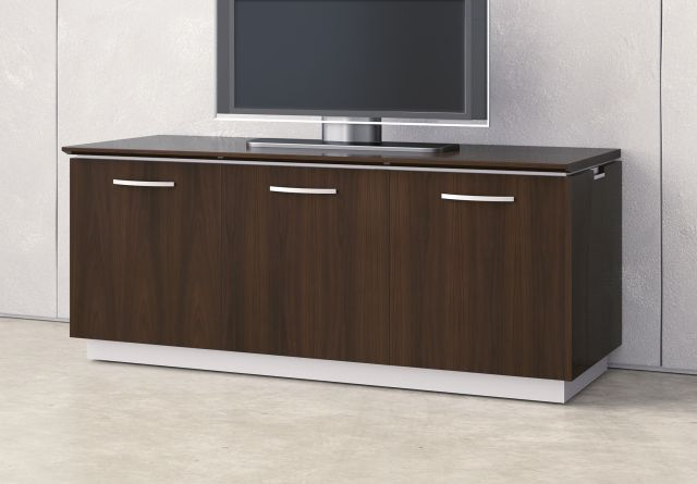 Performance Credenza | Utility Credenza | M26 Walnut Veneer | Technology