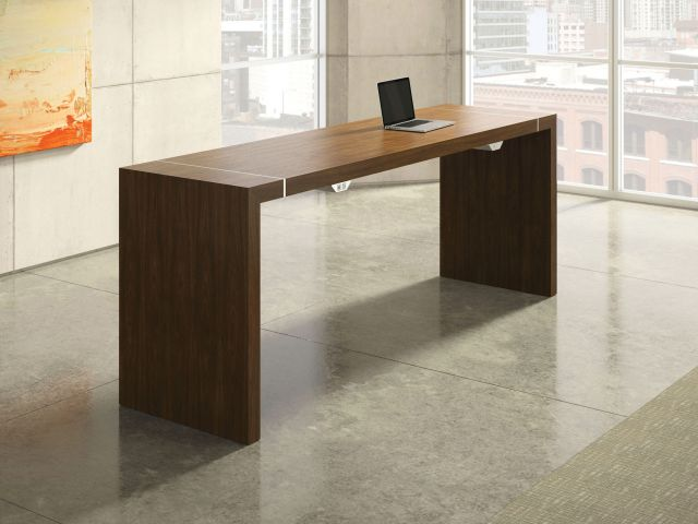 Tesano | Community Table | G31 Otter Veneer | Standing Height