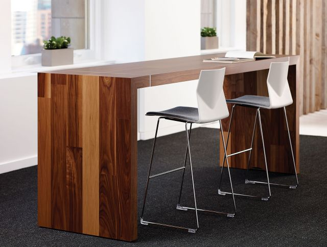 Tesano | Community Table | Planked Veneer | Standing Height