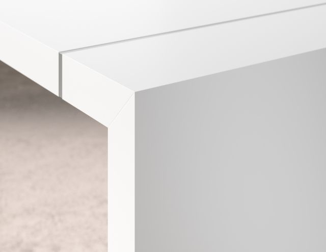 Tesano | Community Table | Brite White Laminate Finish
