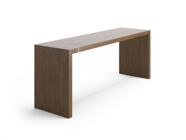 Tesano | Community Table | Veneer Finish | Standing Height | Whitesweep