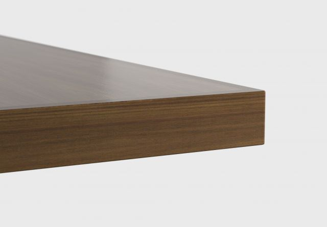 Fleet | Square Wood Edge | Veneer Top