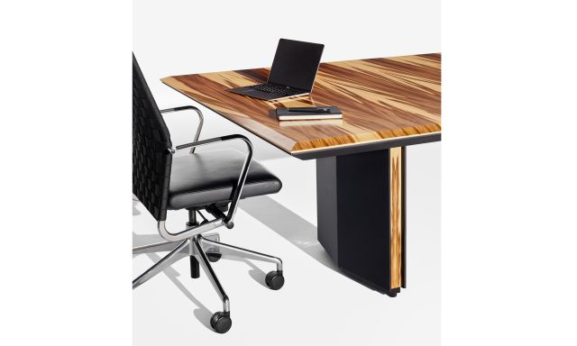 Ascari Conference   Edge and Base Detail   Red Gum Veneer