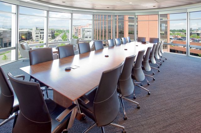 Flow | Conference Table | Veneer Rectangle Top  | Elements, Denver, CO