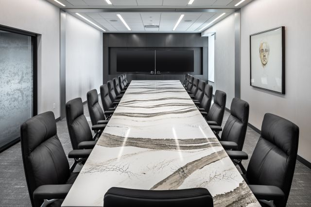 Flow | Conference Table | Sight Line Cambria Skara Brae Top | 300