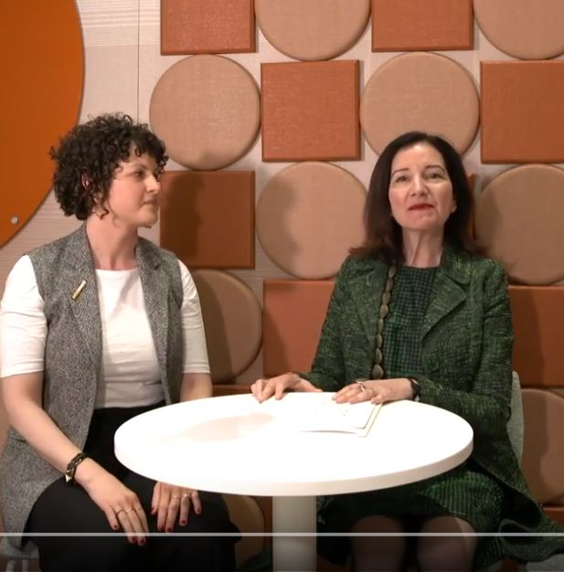 The Inspiration Behind Alev: Helene Oberman and Ayse Birsel Interview at NeoCon